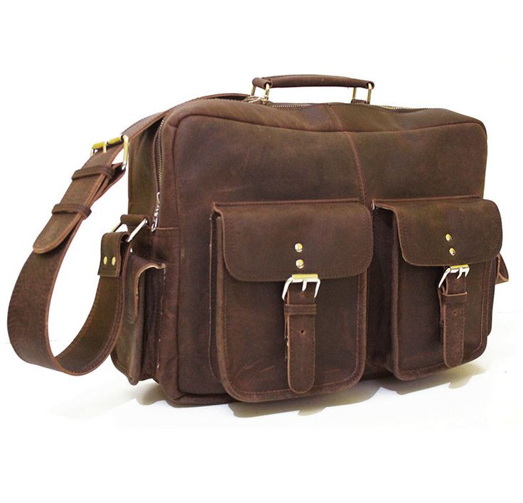 Bolsa De Ombro Masculina Vintage : Best bolsos de hombre crazy horse leather bags images