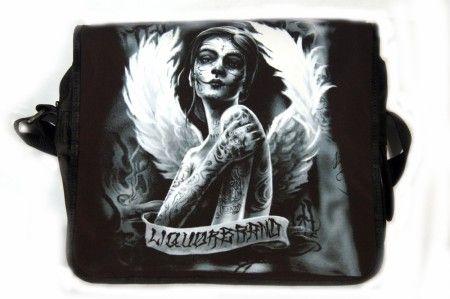 Tetovált nő oldaltáska, válltáska - women's bag
