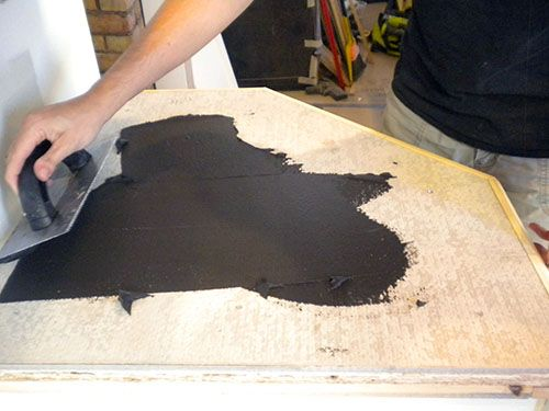 Ardex Faux Concrete Over Plywood Countertops Dream Home