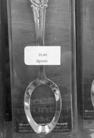 diet spoon..