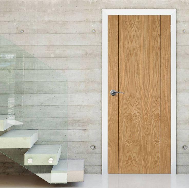 84 best internal flush oak doors images on pinterest oak for 1 panel inlaid oak veneer door