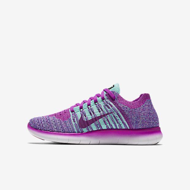 Nike Free RN Flyknit Kids' Running Shoe