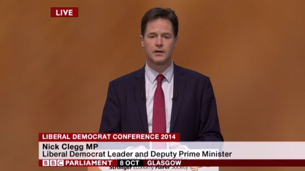 Nick Clegg Is Officially Happy To Stick It To The Tories - BuzzFeed News