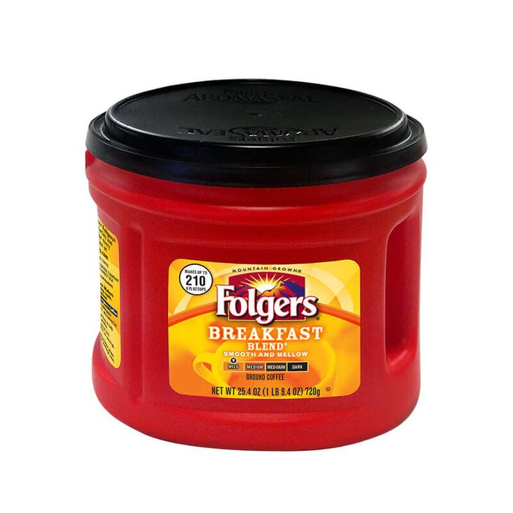 Start your day with Folgers Breakfast Blend® Coffee, a smooth, mild roast.