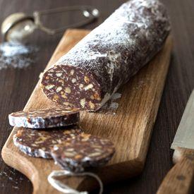Russian Chocolate Salami Cake Recipe