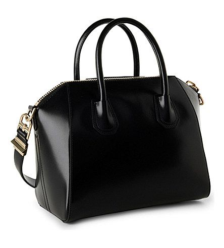 GIVENCHY Antigona small smooth-leather tote (Black