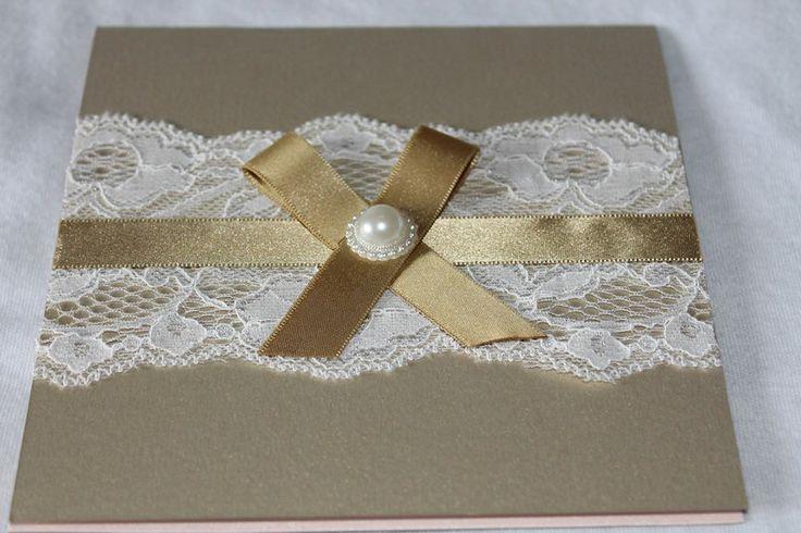 Vintage Wedding Invitations - Order: Facebook Page - Alice's Creations1