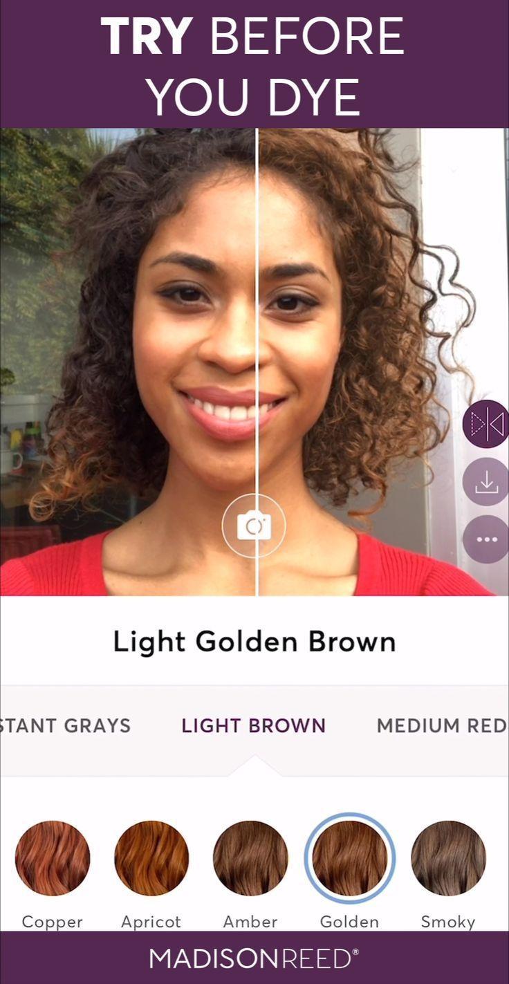 Virtuelle Haarfarbe Live Anprobieren Virtuelle Haarfarbe Zum Anprobieren Farbe Diyhaircolorred Haa In 2020 Hair Color Changer Virtual Hair Color Hair Colour App