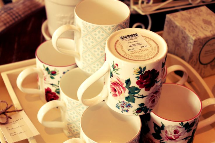 Already visited Laura Ashley in Old Porvoo? In the shop which opened this summer you will definitely enjoy your visit - the boutique is like a romantic livingroom with also a small section for kitchenware. These floral mugs are new for autumn. Don't forget to try also the famous room spray scents! This particular shop is the second one in Finland, the flagship Laura Ashley shop is located on Pohjoisesplanadi in Helsinki. www.visitporvoo.fi