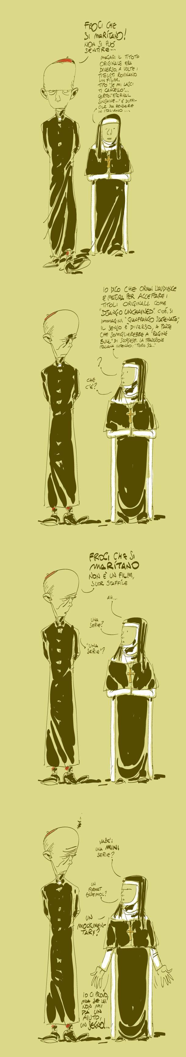 L'orlo del baratro | Makkox Froci che si maritano