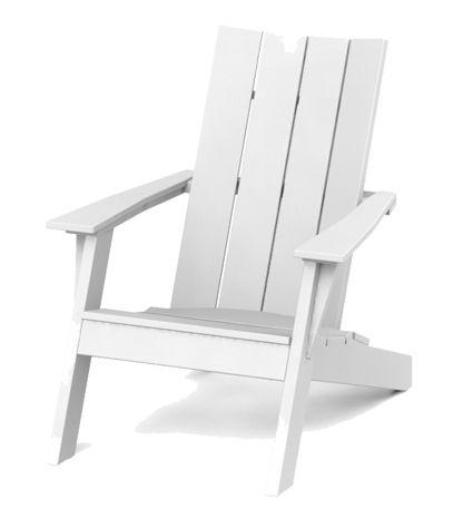 A contemporary interpretation of Adirondack chair