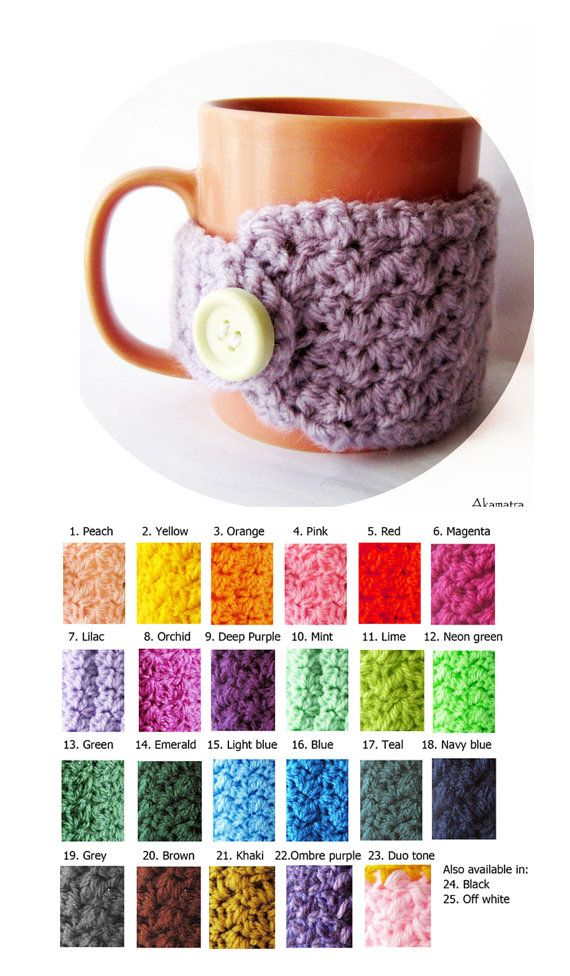 Hey, I found this really awesome Etsy listing at https://www.etsy.com/listing/118737833/lilac-coffee-cup-warmer-crochet-cup-cozy