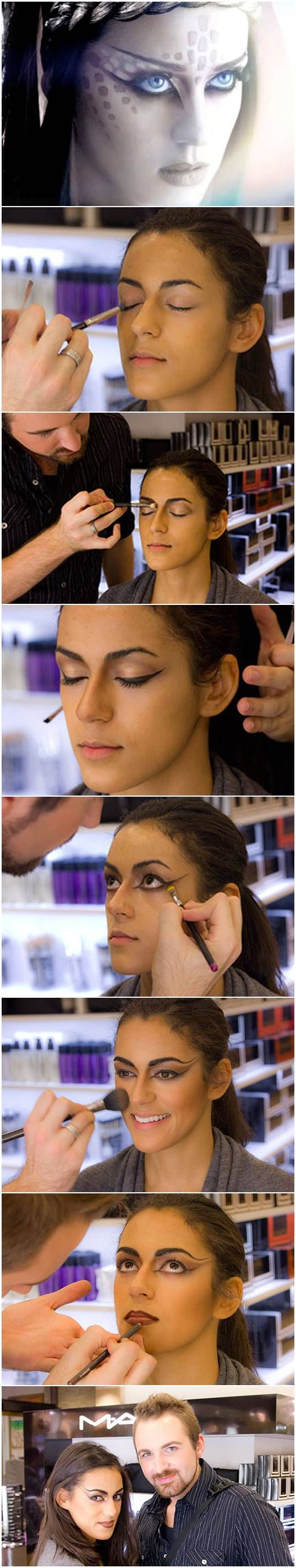 How To: Halloween Makeup Inspired by Katy Perry's E.T. Video