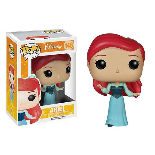 Funko Ariel in a blue dress pop vinyl || The mermaid one is cuter, but I can accept this :))
