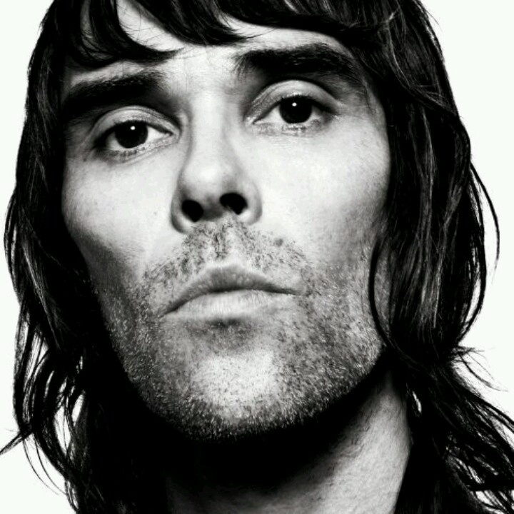 This is on my fridge. This sometimes looks at you like dirt when you are being bit of a knob. It will always be where I am. Ian Brown is always around and nails. I love this pic, I wish I had Ian browns cheek bones.