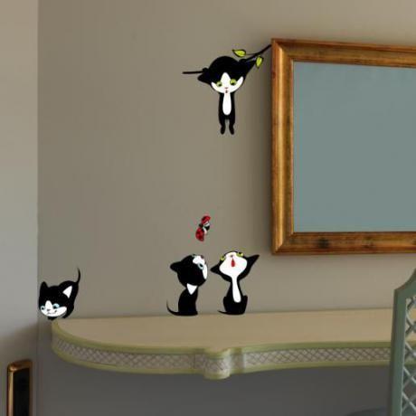 Παιχνιδιάρικα γατάκια παντού!, αυτοκόλλητα διακόπτη