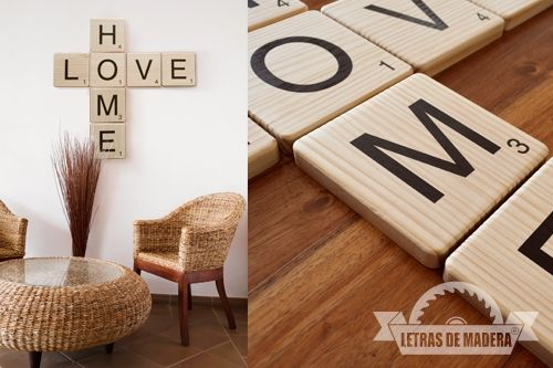 - Scrabble decoracion ...