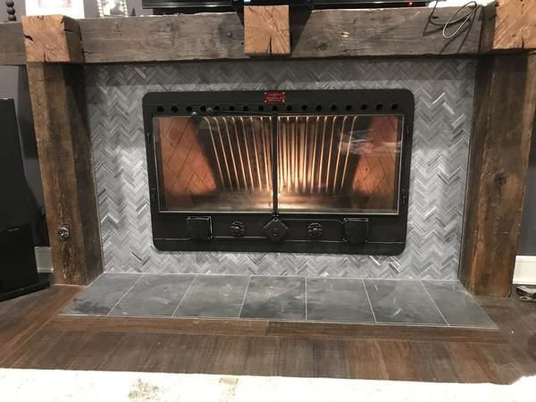 Cfi Custom Wood Burning Fireplace Insert Heat Exchanger Heatilator