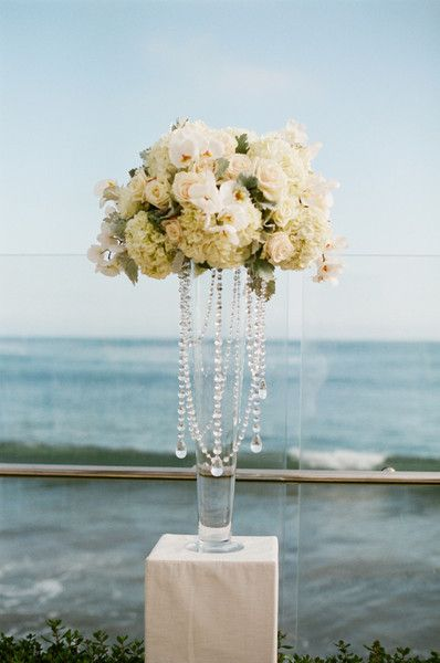 Tall Centerpieces Wedding Flowers Photos on WeddingWire