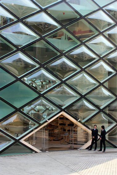 Prada Concept Store par Herzog & de Meuron à Tokyo