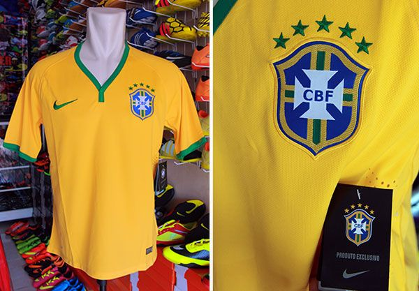 Jersey Tim Brazil Home Grade Ori Rp 110.000