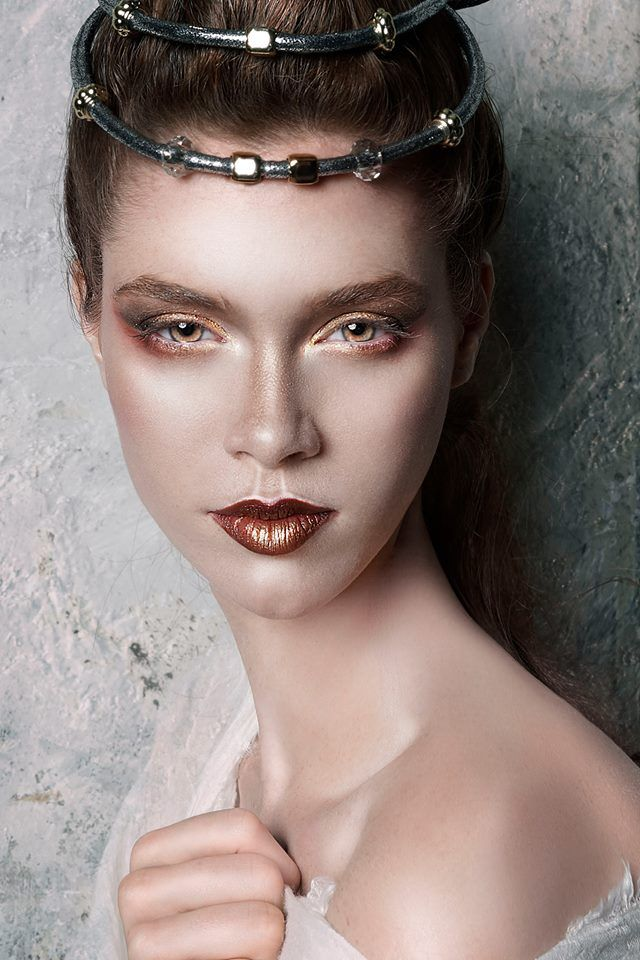 Greek Goddess! makeup & hair by Antigoni Livieratou #antigonilivieratou Photo by Adrian Juin