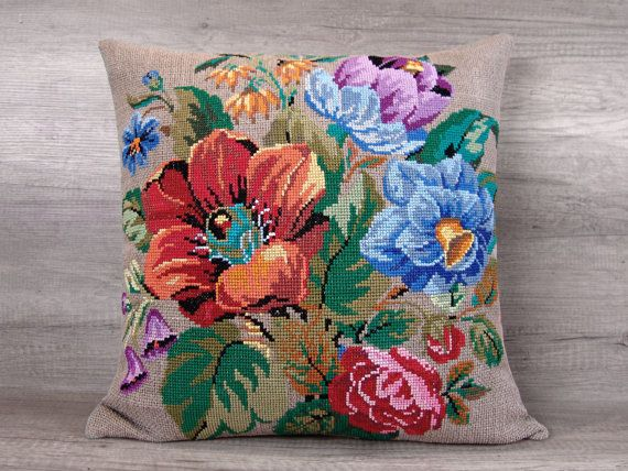 Check out this item in my Etsy shop https://www.etsy.com/listing/285387521/large-flower-cross-stitch-decorative
