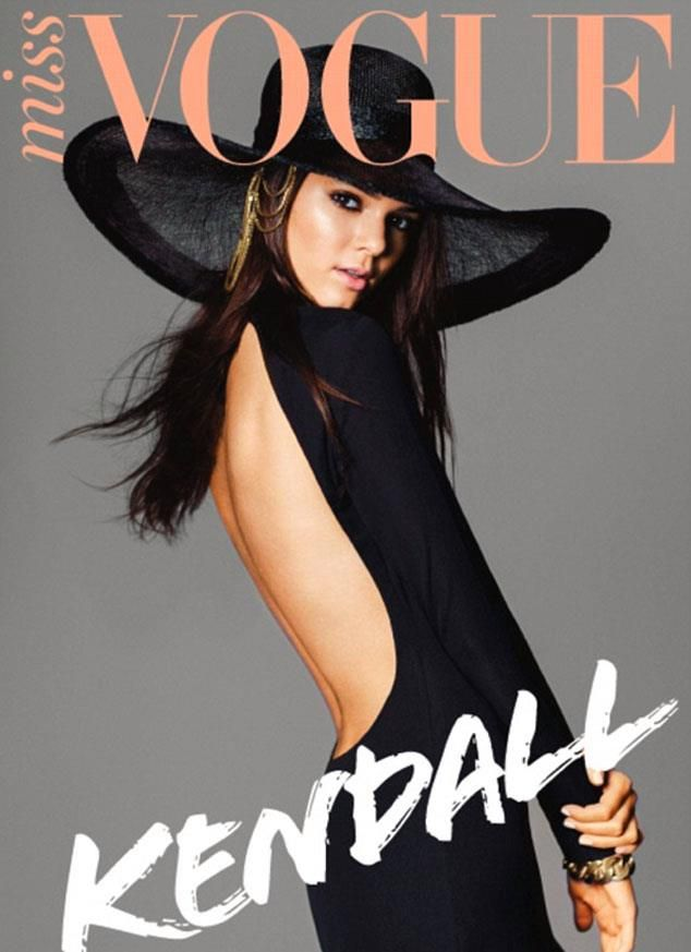 Don't you just love Kendall Jenner's Miss Vogue Cover! So chic!