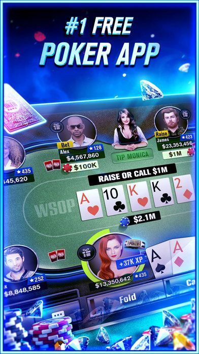 World Series of Poker - WSOP Free Texas Holdem on the App Store http://apple.co/2e9EGVY