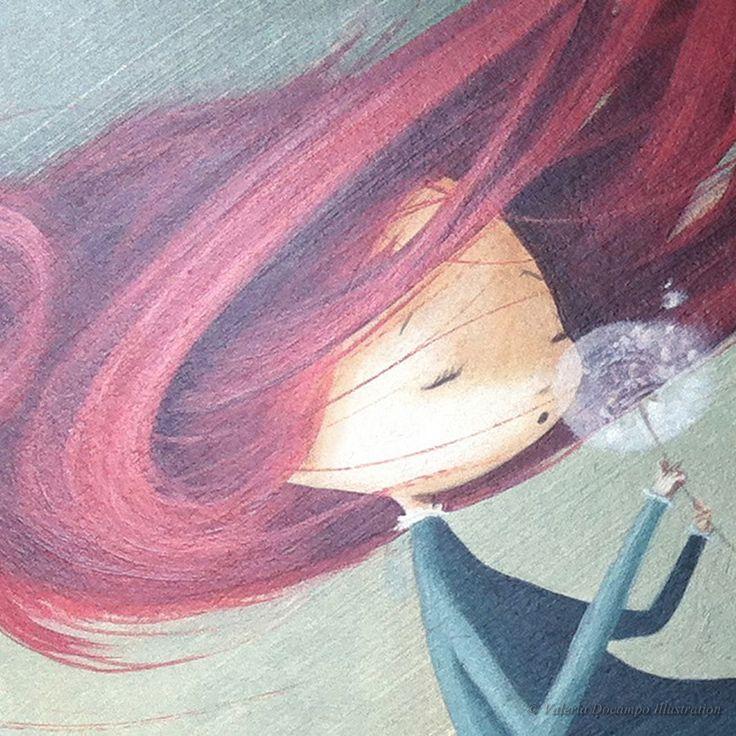 Ana by Valeria Docampo. (Detail) Illustration.