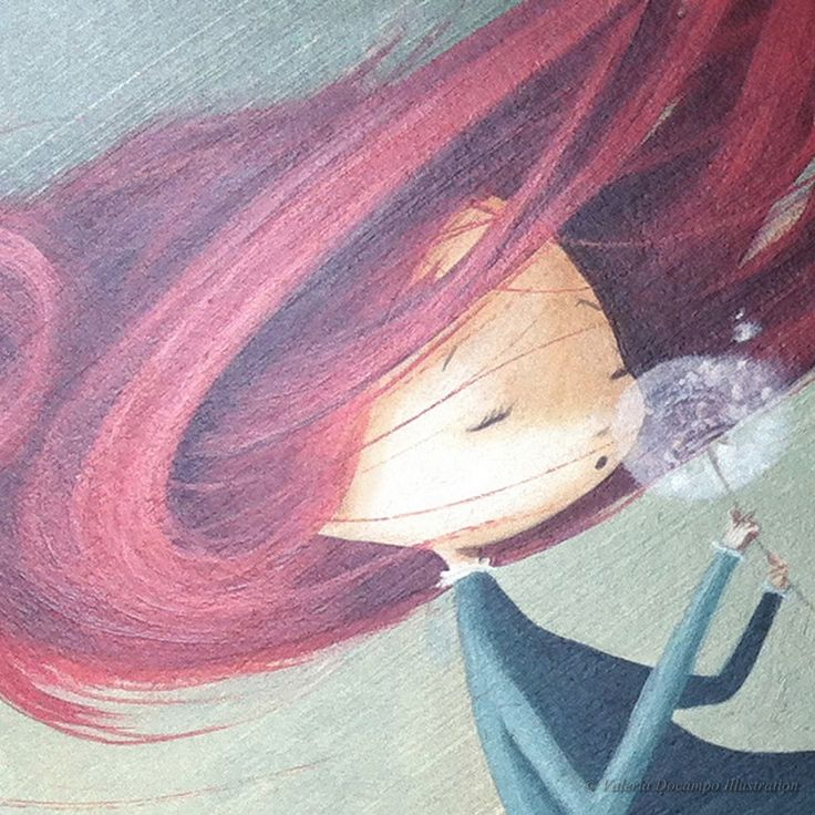 Ana by Valeria Docampo. (Detail) Illustration.
