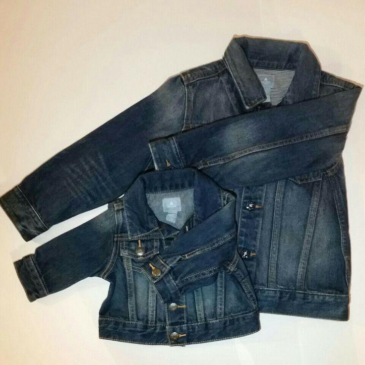 #fzonestyle  Ref. Chaqueta Jean GAP. Tallas disponibles: 3-6 meses y 5 años. Características: Jean clásica. Valor: $54,000 (COP) y $60,000 (COP).
