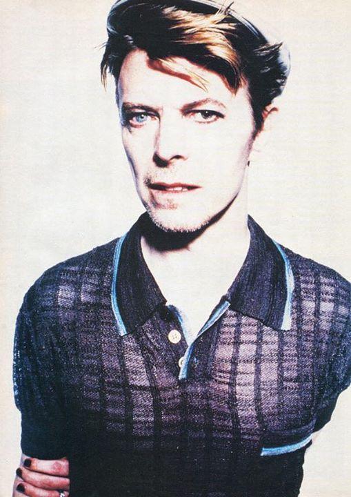 David Bowie, 1995, by Enrique Badulescu.