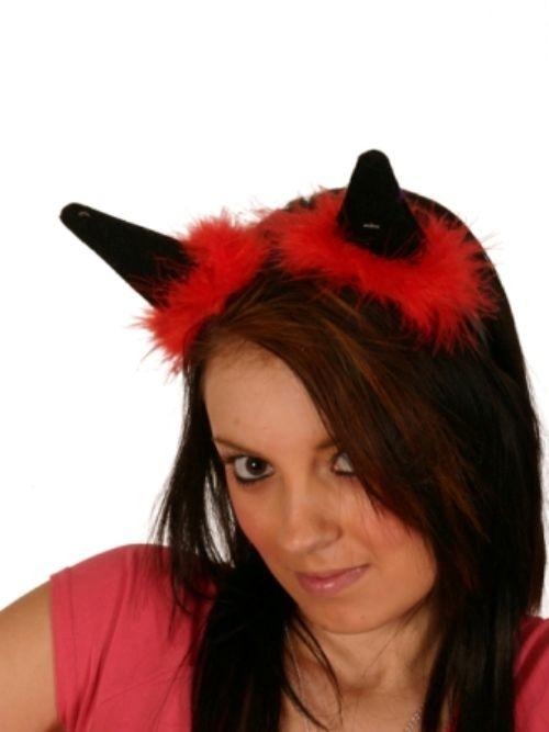 Budget devil horns ideal party bag filler.