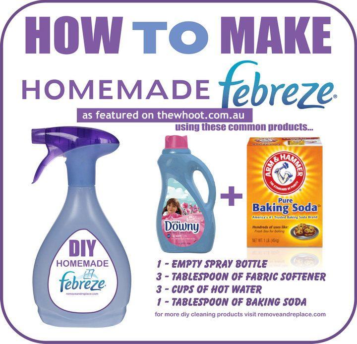 home made febreze