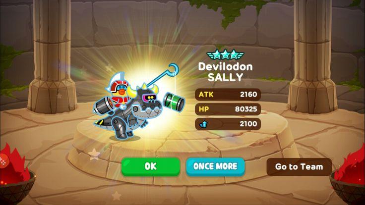 New Ranger received through Gacha! #gacha #sally #ultra #evolving #devilodon #linerangers