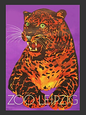 1960's Leipzig Zoo Poster  http://www.fearsandkahn.co.uk/leipzigzoo.htm
