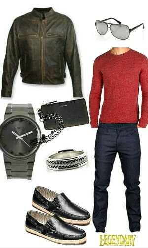 Men's dressy casual outfit