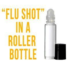 """How To Make Your Own """"Flu Shot"""" Using Essential Oils"""
