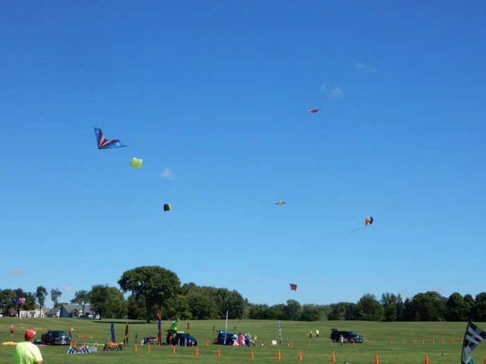 The DeKalb Kite Fest takes place Sunday, September 10, 2017 between 11am and 4pm. It is always the second Sunday in September.
