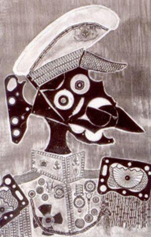 Marino, amigo de Ramona, 1964: Obra de Antonio Berni