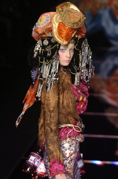 John Galliano at Paris Fashion Week Fall 2004 - StyleBistro