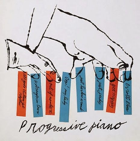 Atelier: Andy Warhols Early Jazz Covers - automatism