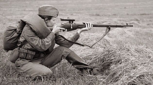Ladies of Death: Portraits of Russian Women Snipers from ...