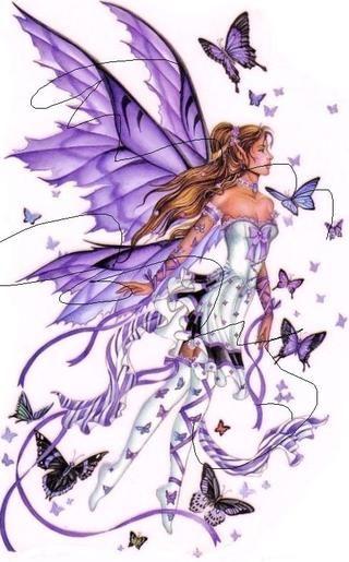 Free Stuff: Flying Fairy Cross Stitch Pattern - Listia.com Auctions for Free Stuff