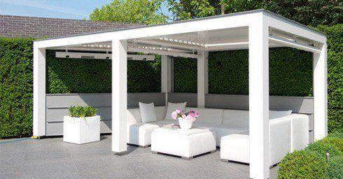 25 beste idee n over patio zonwering op pinterest overdekte terrassen - Overdekte patio pergola ...