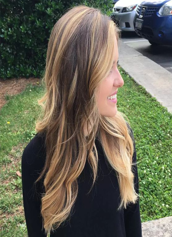 Ashy Brown Hairstyles 2017 with Light Brown Highlights