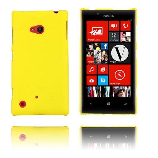 Hard Shell (Gul) Nokia Lumia 720 Etui
