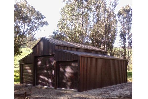 American barn for storage at Balingup