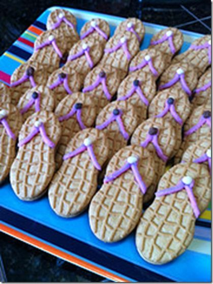You can also use Milano Cookies from pepperidge farmLuau Party Food Ideas | Good Recipes Online